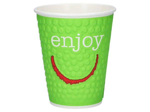 Enjoy pappkopper lime HotCoffee