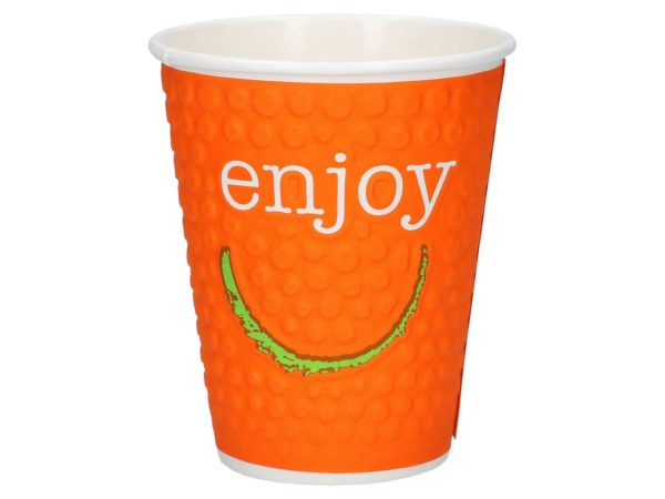 Enjoy pappbeger orange HotCoffee