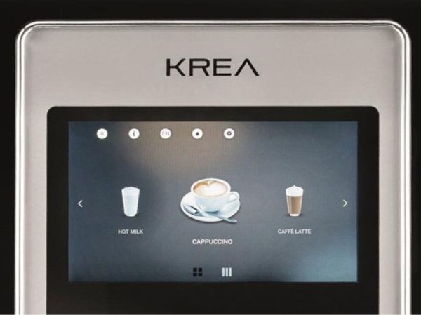 KreaTouch Key Features3 HotCoffee