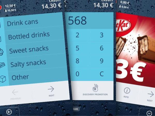 SambaTouch Key Features 1 Salgsautomat HotCoffee