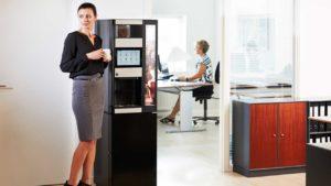 Hva bør en kaffemaskin på jobb koste?