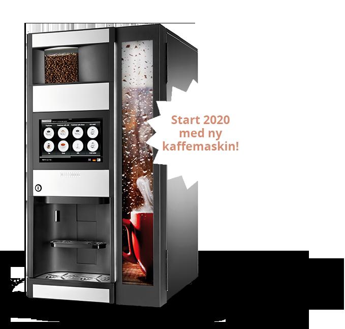 Start 2020 med ny kaffemaskin